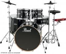 Pearl Epexl725sc-248 Rock 22 - 5 Futs - Vernis Black Smoke