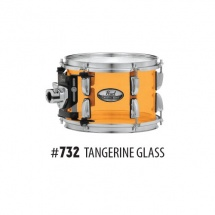 Pearl Crb1450sc-732 - Caisse Claire Ffs Crystal Beat 14x5 Acrylique Tangerine Glass