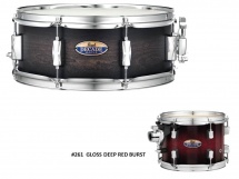 Pearl Dmp1455sc-261 - Caisse Claire Decade Maple 14x5,5 Gloss Deep Red Burst