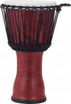 Pearl Drums Pbjvr10-699 Djembe Rope Tuned Molten Scarlet 10
