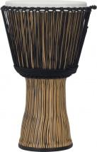 Pearl Drums Pbjvr14-698 Djembe Rope Tuned Zebra Glass 14