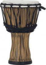 Pearl Drums Pbjvr7-698 Djembe Rope Tuned Zebra Glass 7