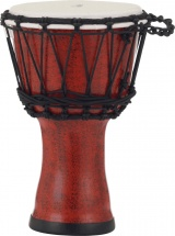 Pearl Drums Pbjvr7-699 Djembe Rope Tuned Molten Scarlet 7
