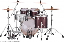 Pearl Mct924xepc-329 - Master Maple Complete 4f Rock 22 Burnished Bronze Sparkle