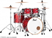 Pearl Mct943xepc-319 - Master Maple Complete 3f Rock 24 Inferno Red Sparkle