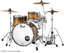 Pearl Mct943xepc-351 - Master Maple Complete 3f Rock 24 Satin Natural Burst
