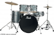 Pearl Drums Roadshow Fusion 20 - Charcoal Metallic - Rs505cc-706