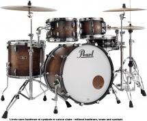 Pearl Fw924xspc-327 - Wood/fiberglass Rock 22 - Satin Cocoa Burst
