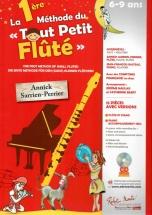 Sarrien-perrier A. - La Premiere Methode Du Tout Petit Flute