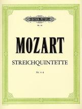 Mozart Wolfgang Amadeus - String Quintet Vol.1 (4-8)