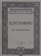 Schoenberg Arnold - Ein Stelldichein - Conducteur De Poche