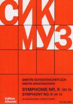 Chostakovitch D. - Symphonie N° 9 Op. 70 - Conducteur De Poche