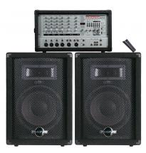 Phonic Phonic Powerpack740 Pack Sono Console + Enceintes 2x100w 7 Entrees -