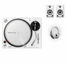 Pioneer Dj Pack Dm-40bt + Plx-500 + Hdj-700 - Blanc