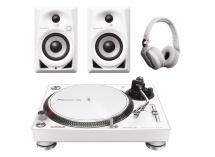 Pioneer Dj Pack Dm-40-w + Plx-500-w + Hdj-700-w