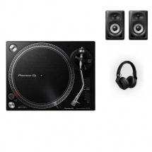 Pioneer Dj Pack Dm-40bt + Plx-500 + Hdj-700 - Noir