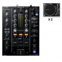 Pioneer Dj Djm-450 + 2x Plx-1000