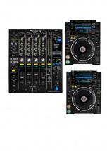 Pioneer Dj Pack Dj Professionnel Djm-900nxs2 + 2x Cdj-2000nxs2