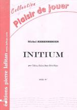 Nierenberger Michel - Initium - Clairon Et Piano