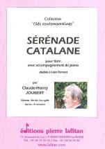 Joubert Claude-henry - Serenade Catalane - Flute Et Piano