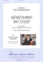 Joubert Claude-henry - Serenade De Chat - Violon Et Piano