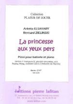 Elsayary / Zielinski - La Princesse Aux Yeux Pers - Batterie Et Piano