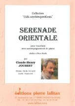 Joubert Claude-henry - Serenade Orientale - Hautbois Et Piano