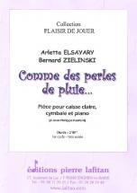 Elsayary / Zielinski - Comme Des Perles De Pluie - Caisse Cl, Cymb. Et Piano