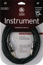 Planet Waves Ag15 Cable Avec Interrupteur Coupe-son 4,5 M