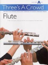 Power James - Three's A Crowd - Junior Book A - Flute - Wind Ensemble