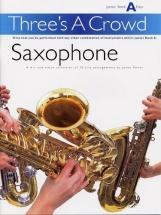 Power James - Three's A Crowd - Junior Book A - Saxophone - Wind Ensemble