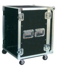 Power Acoustics Flight Case Av Roulettes 12u