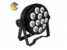Power Lighting Par Slim 12x10w Hexa