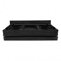 Power Acoustics Flight Case Pour 2 Platines Cdj900nxs Ou Cdj2000nxs + Mixer 13 Couleur Noire