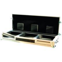 Power Acoustics Flight Case Roulettes Cd A Plat+mix