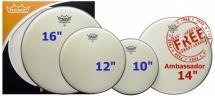 Remo Pp-2330-ba - Propack Ambassador Sablee 10/12/14/16
