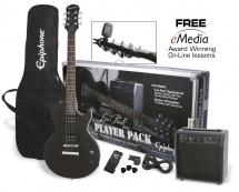 Epiphone Pack Guitar Epiphone Avec Lp Special-ii Ltd Ebony Et Ampli Electar-10