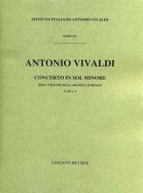 Vivaldi A. - Concerti In Sol Min. Rv 531 - Conducteur