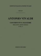 Vivaldi A. - Concerto In Fa Maggiore Rv 485 F.viii N°8 - Score