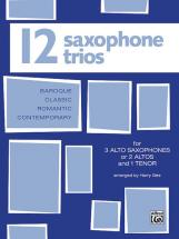 Gee Harry - Twelve Saxophone Trios - Saxophone Ensemble