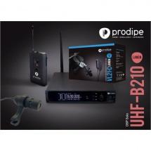 Prodipe Pack Uhf B210 Dsp Solo + Vl21