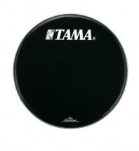 Tama Bk24bmtt - Peau De Resonnance Noire 24  Logo Tama Starclassic