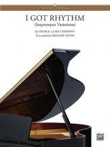 Gershwin George - I Got Rhythm Variations - Piano Duet
