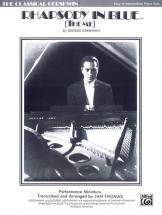 Gershwin George - Rhapsody In Blue, Melody - Piano Solo