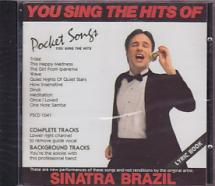 Cd  - Hits Of Sinatra Brazil- Cd Sing-along