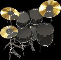 Sourdine Vic Firth - Cymbale De 16 A 18