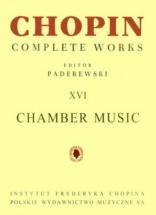 Chopin - Chamber Music - Complete Works Vol Xvi (paderewski)