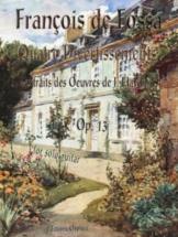 De Fossa Francois - Quatre Divertissements Extraits Des Oeuvres De J. Haydn - Guitare