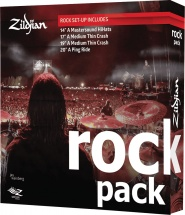 Zildjian A0801r - Pack Cymbales Rock Serie A