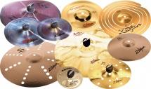 Zildjian Efxp110 - Pack Cymbales Efx 10 Unites Serie Efx - Oriental